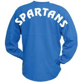Pennant Billboard Crew Shirt - Spartans Block Logo