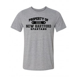 Property Of Spartans Tee