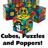 Cubes, Puzzles and Poppers