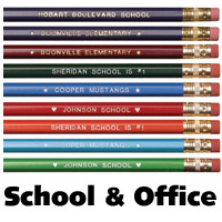 Imprinted School pencils