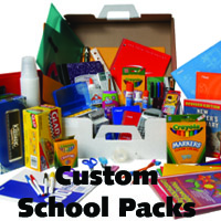 Custom School Packs