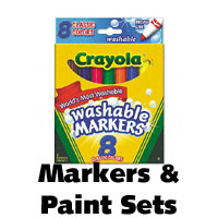 markers paint sets