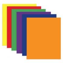 Bazic Twin Pocket Paper Folders