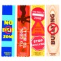 No Bully Zone Satin Ribbon Bookmarks