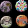 Dinosaur Buttons
