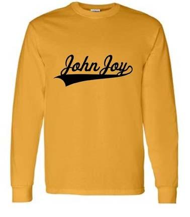 John Joy Swoosh Long Sleeve Tees