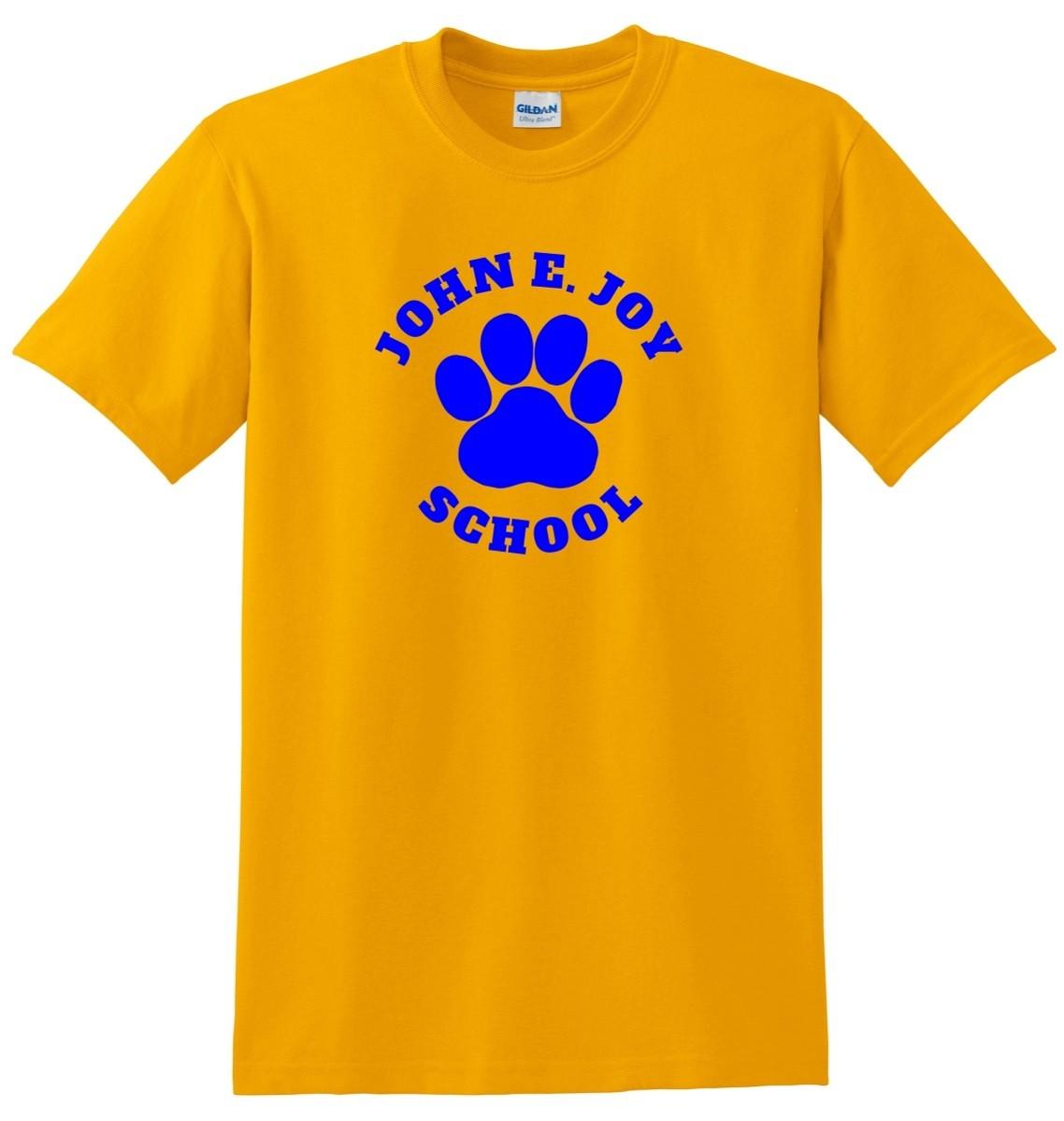 John Joy Paw Print 100% Cotton T-Shirts