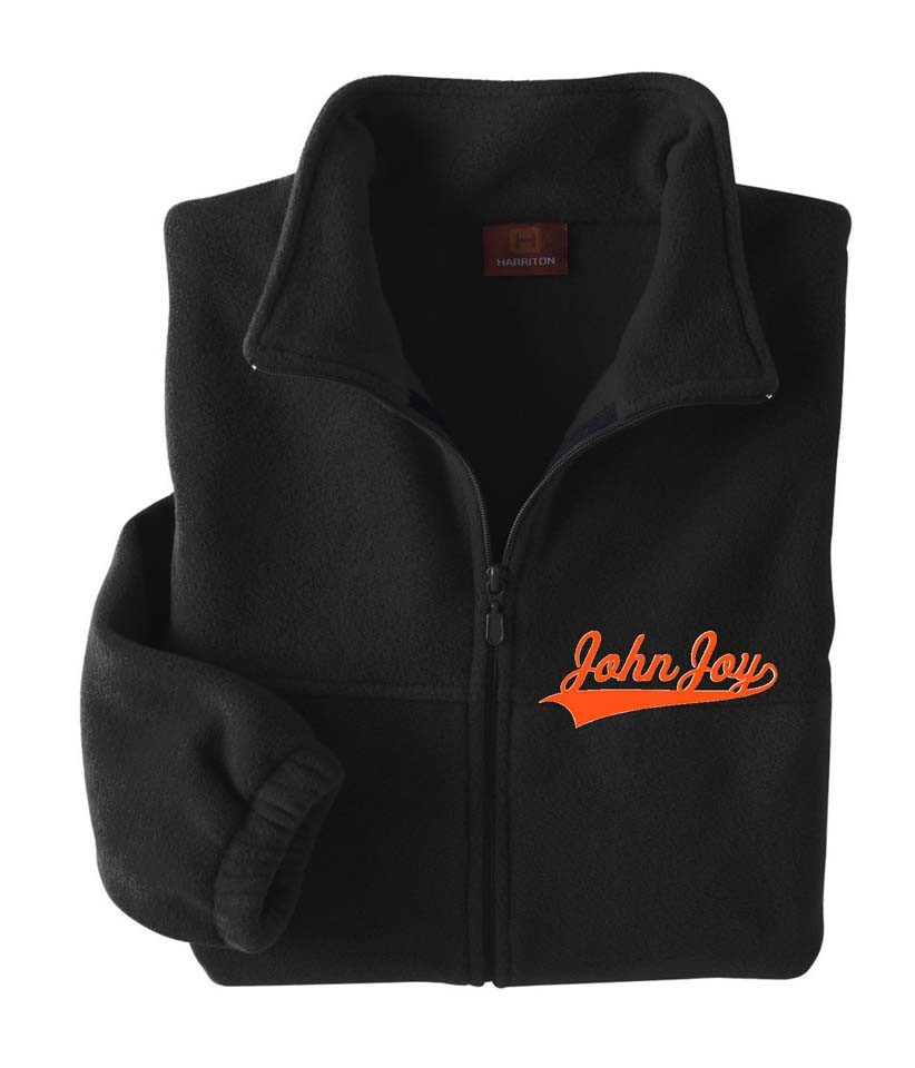 John Joy Swoosh Quarter Zip Jacket