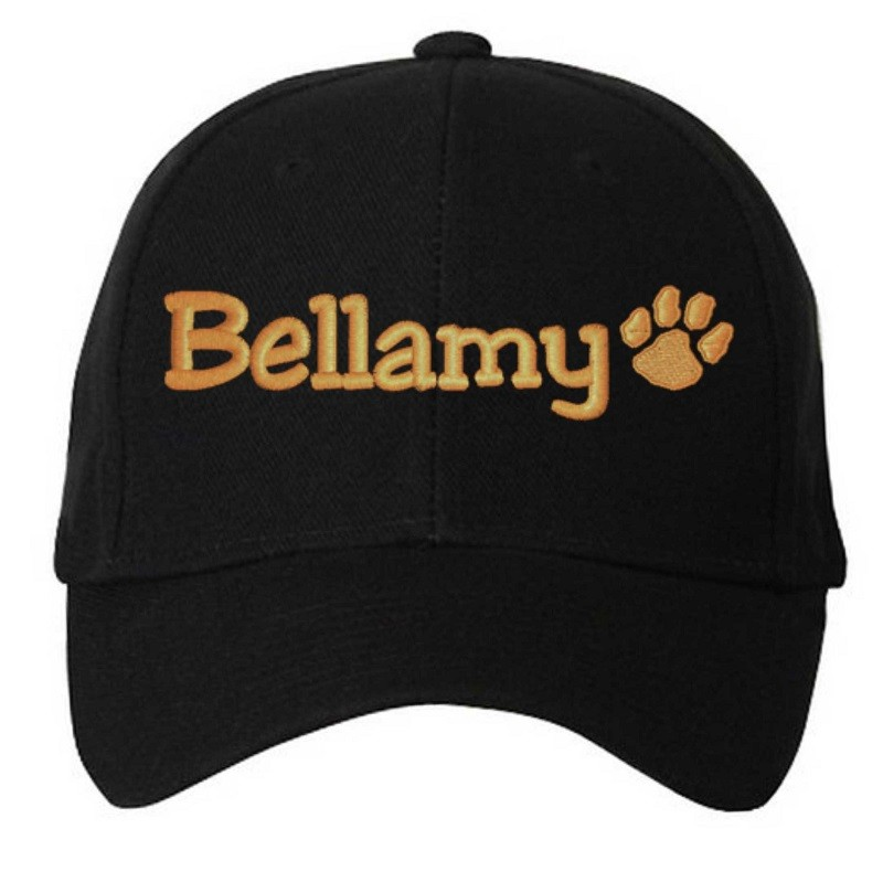 Bellamy Paw Print 5 Panel Cap