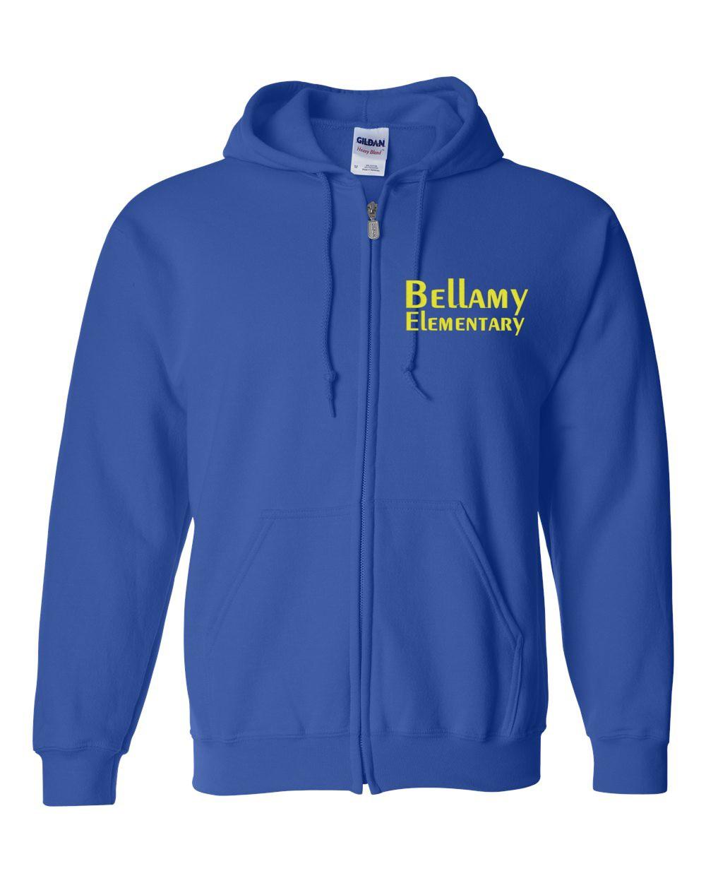 Bellamy  Zip Up Hoodie