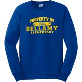 Property Of Bellamy Elem. Long Sleeve T-Shirt
