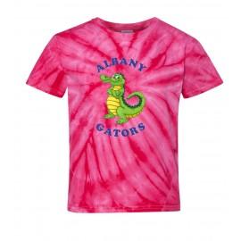 Albany Stand Up Gator Tye Dye T-Shirt