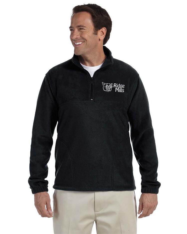 Ridge Mills Wildcats Quarter Zip Fleece