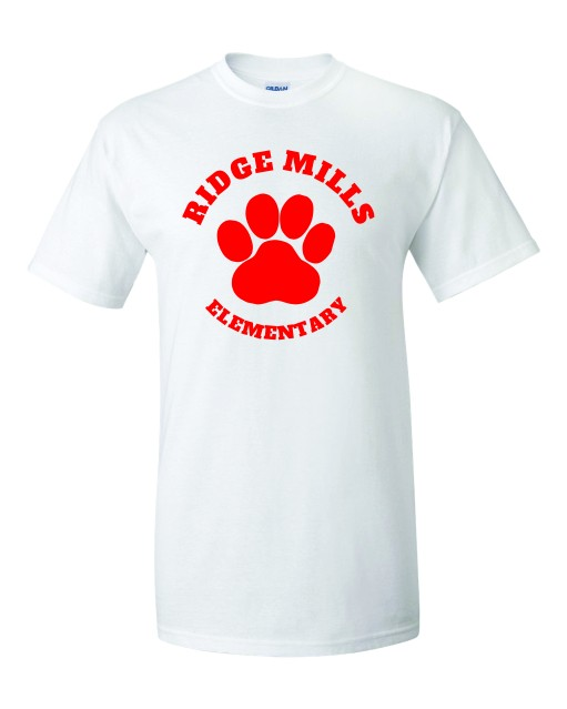 Ridge Mills Paw Tee