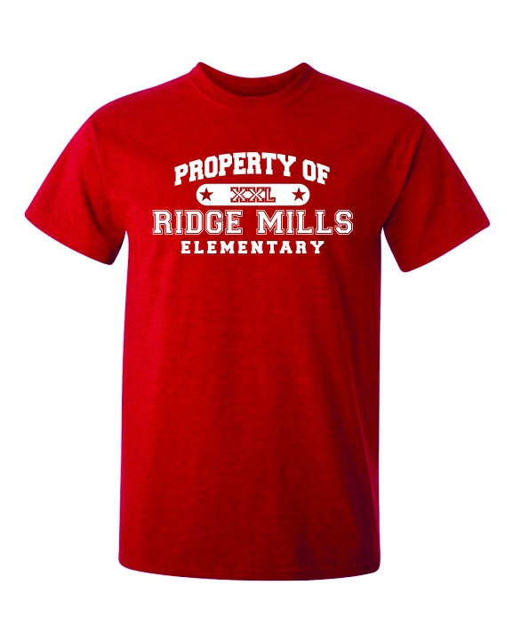 Property Of Ridge Mills Elem. Tee