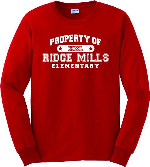 Property Of Ridge Mills Long Sleeve Tee