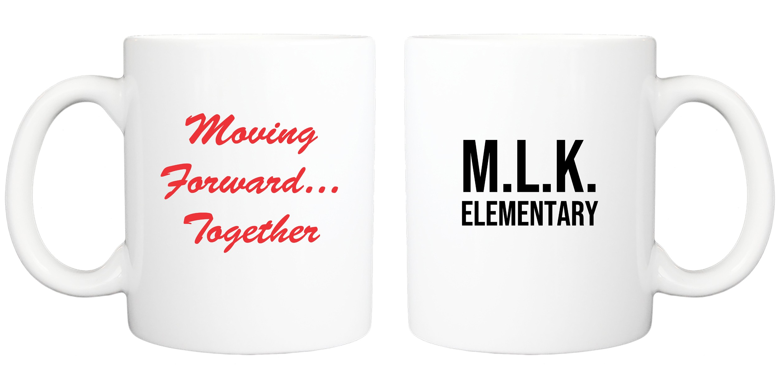 MLK JR. Moving Forward Coffee Mug