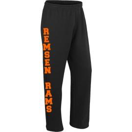 Remsen Rams Open Bottom Sweatpants