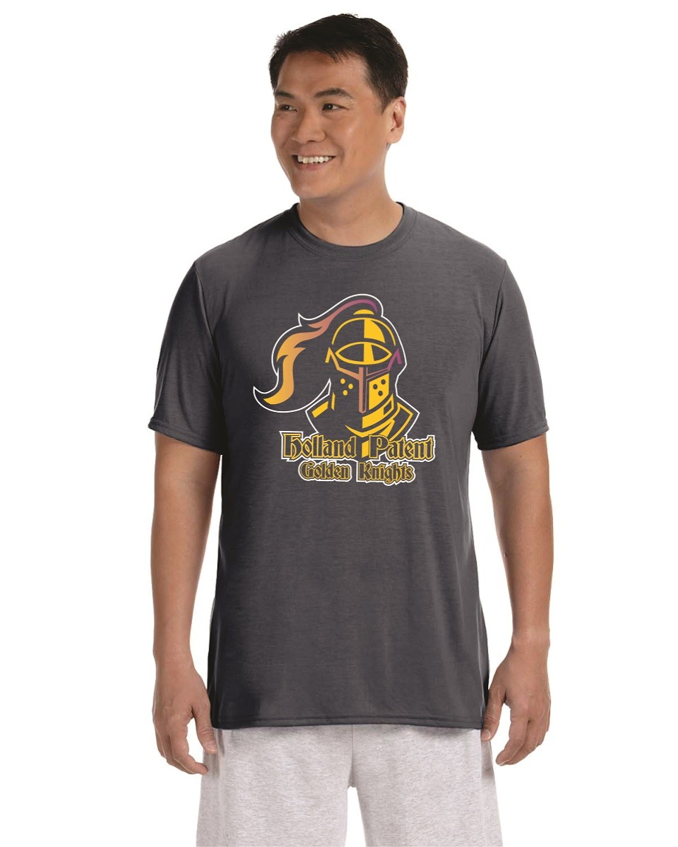 Holland Patent Golden Knights Moisture-Wicking Tee