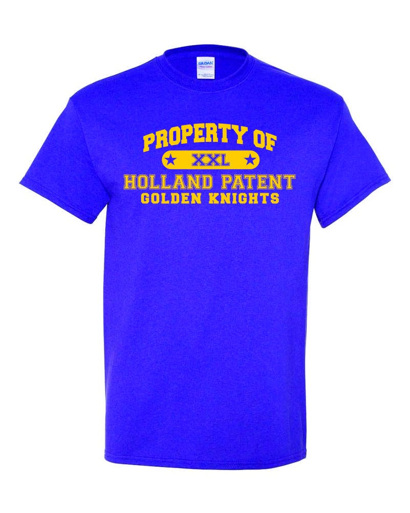 Property Of Holland Patent 100% Cotton Gildan Tee