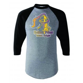 Holland Patent Golden Knights 3/4 Sleeve T-Shirt