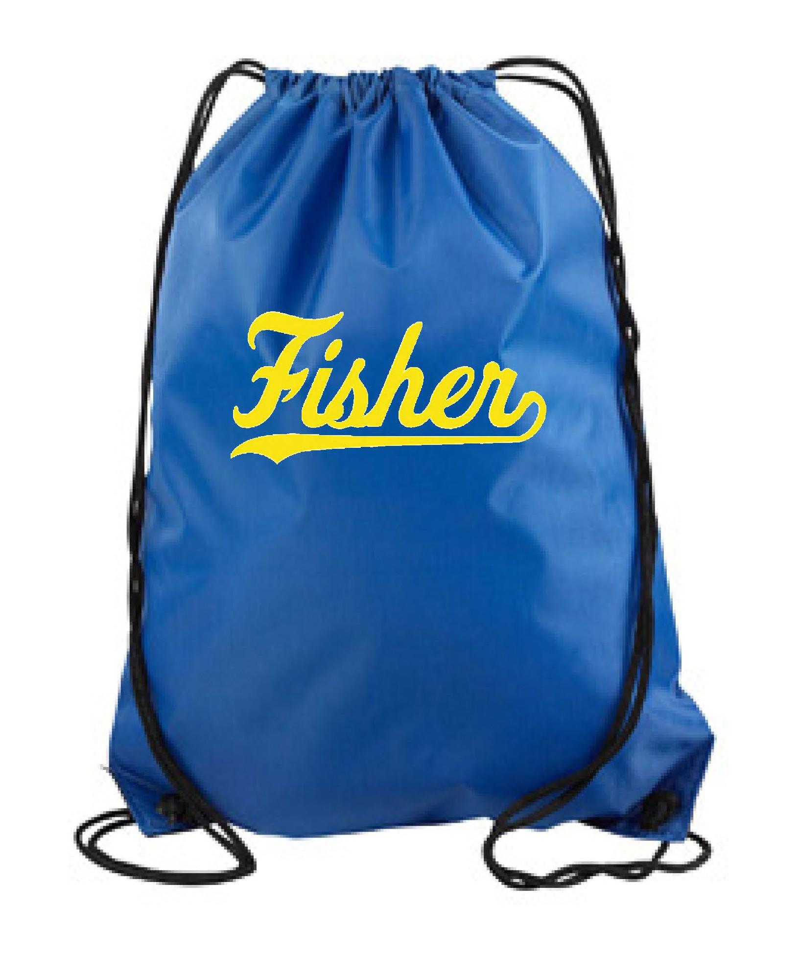 Fisher Elementary Drawstring Backpack