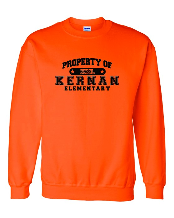 Property Of Kernan Elem. Sweatshirt