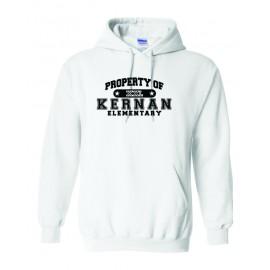 Property Of Kernan Elem. Hoodie