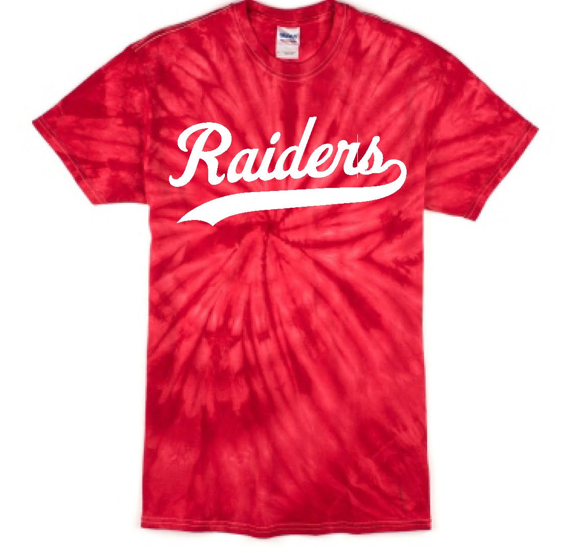 Raiders Tye-Dye Tee