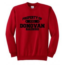 Property Of Donovan Heavy Blend Sweatshirt