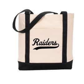 Raiders Canvas Totebag