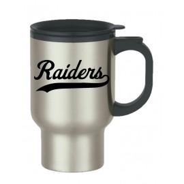 Raiders Stainless Steel Travel Mug