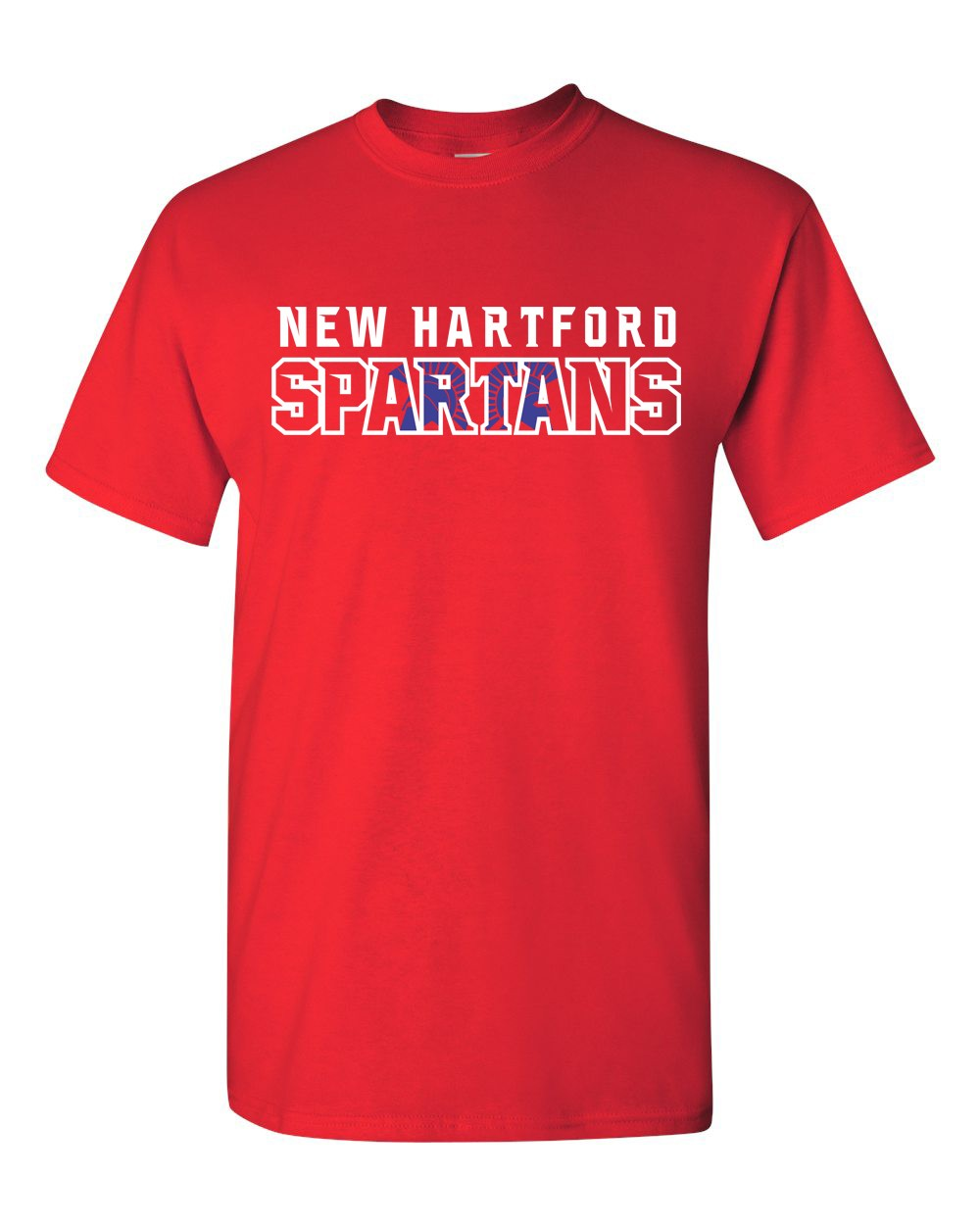 New Hartford Spartans Bella Canvas Tee
