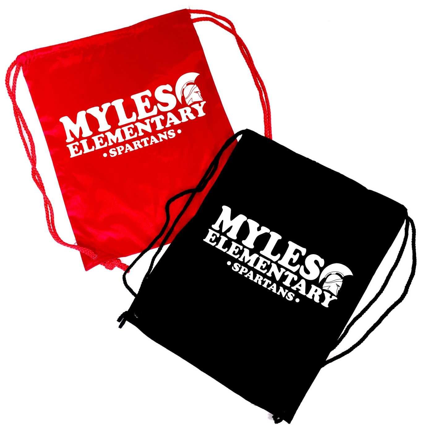 Myles Elementary Drawstring Backpack