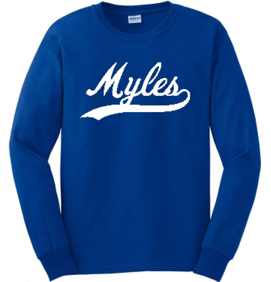 Myles Swoosh Long Sleeve Tee