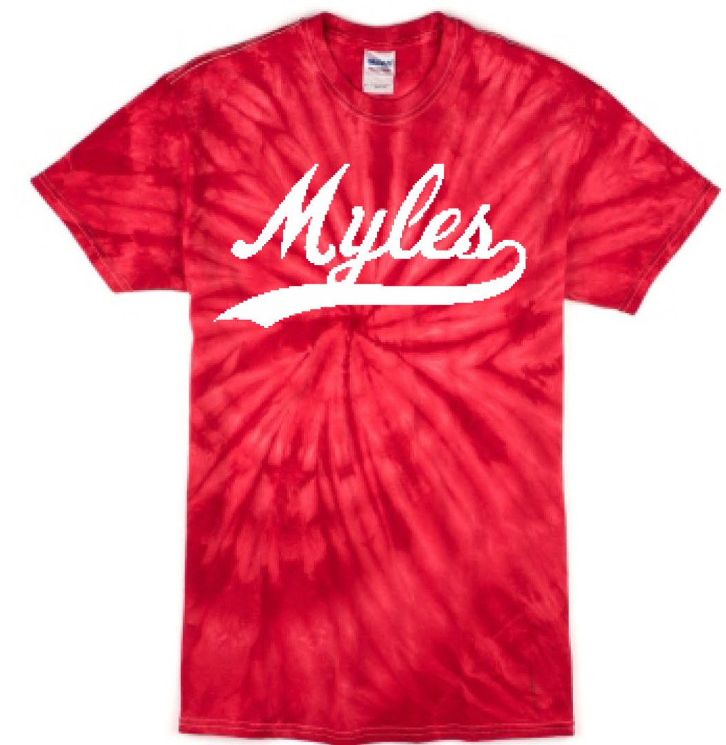 Myles Swoosh Tye Dye Tee