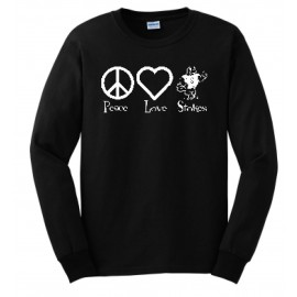 Stokes Peace & Love Long Sleeve Tees