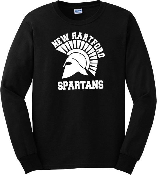 New Hartford Spartans Long Sleeve Tee