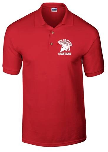 New Hartford Spartans Dryblend Polo