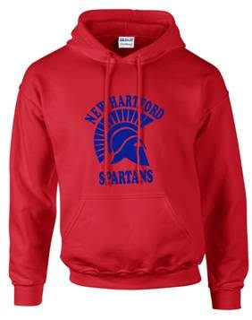 New Hartford Spartans Pullover Hoodie