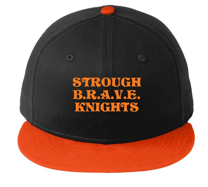 B.R.A.V.E. Knights New Era Snapback Caps