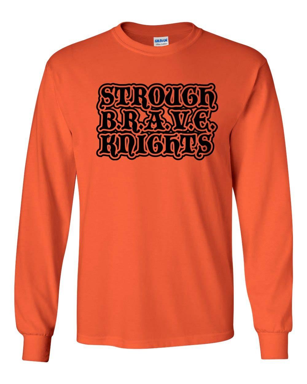 B.R.A.V.E. Knights Long Sleeve Tee