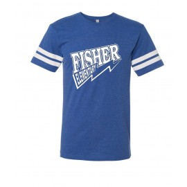 Fisher Elementary Lightning Two Stripe Jersey