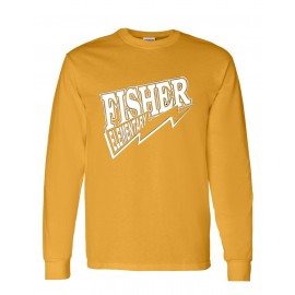 Fisher Elementary Lightning Long Sleeve Tee