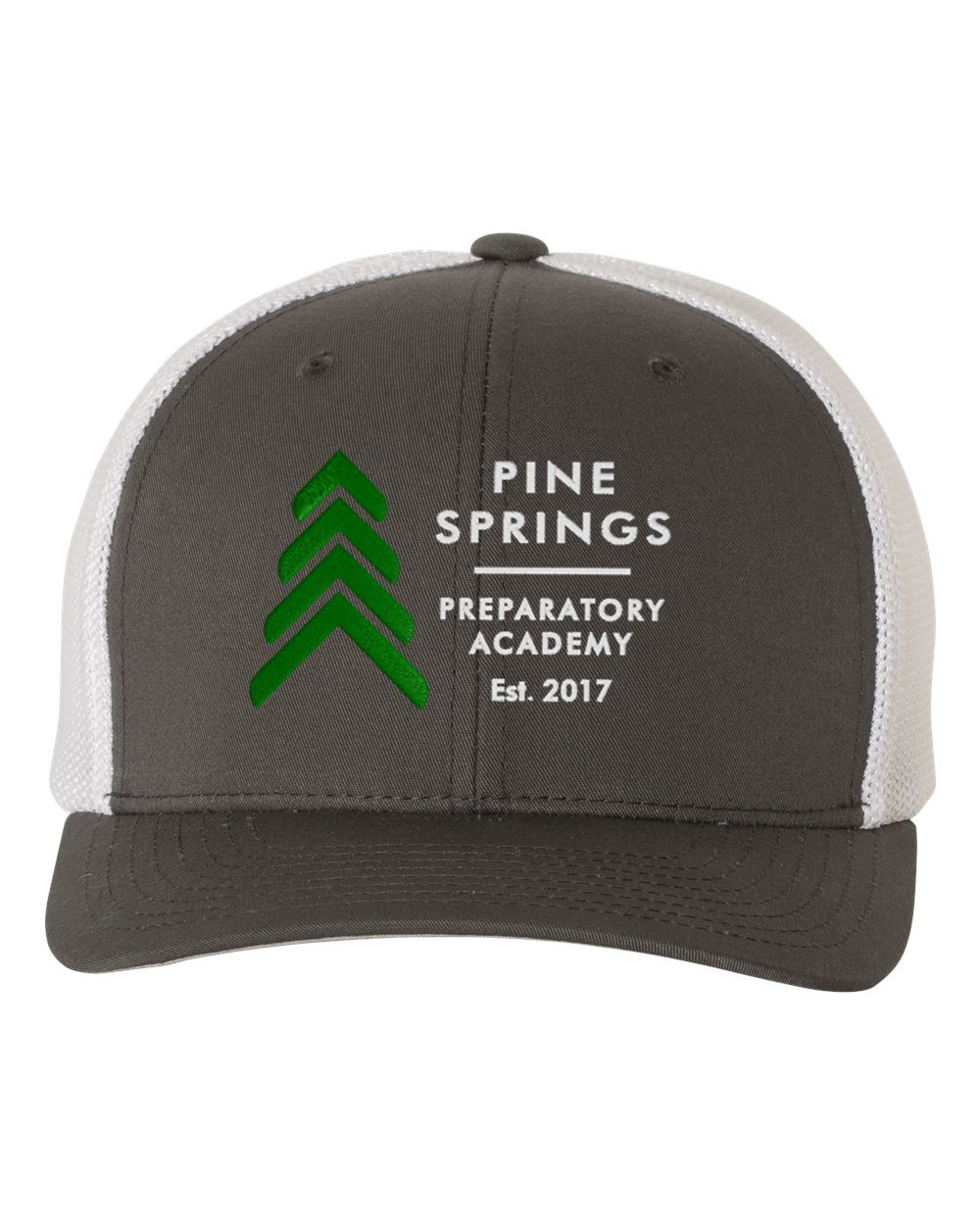 Pine Springs Embroidered Trucker Caps