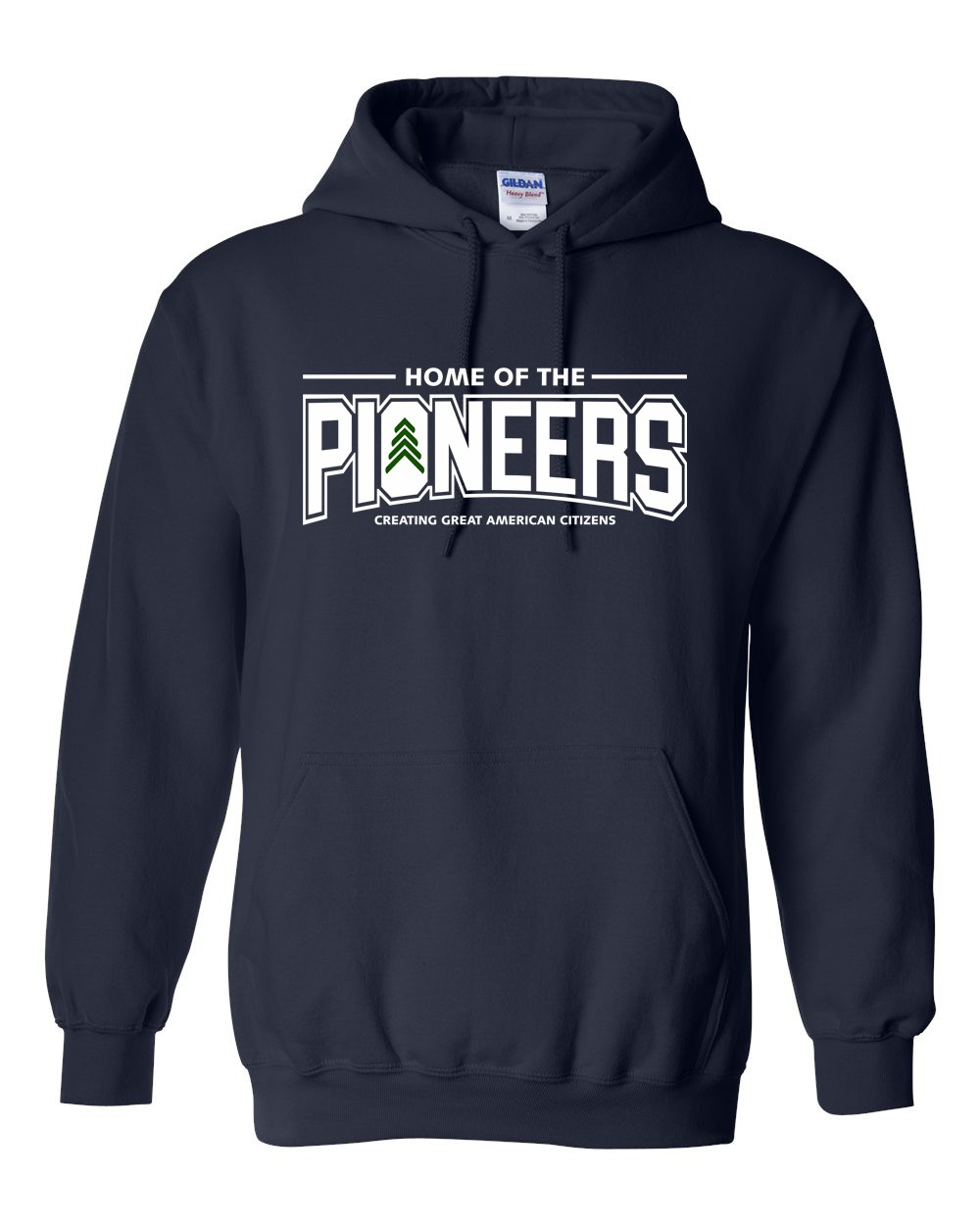 Pioneers 50/50 Poly/Cotton Mix Pullover Hoodies