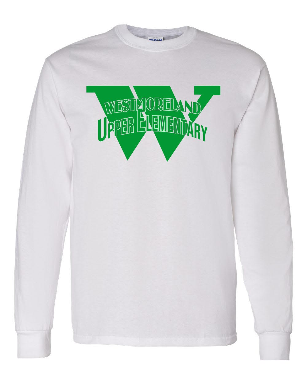 Gildan Upper Elem. Logo Long Sleeve Tees