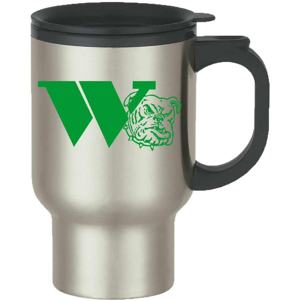 Stainless Steel Travel Mug - Classic Logo