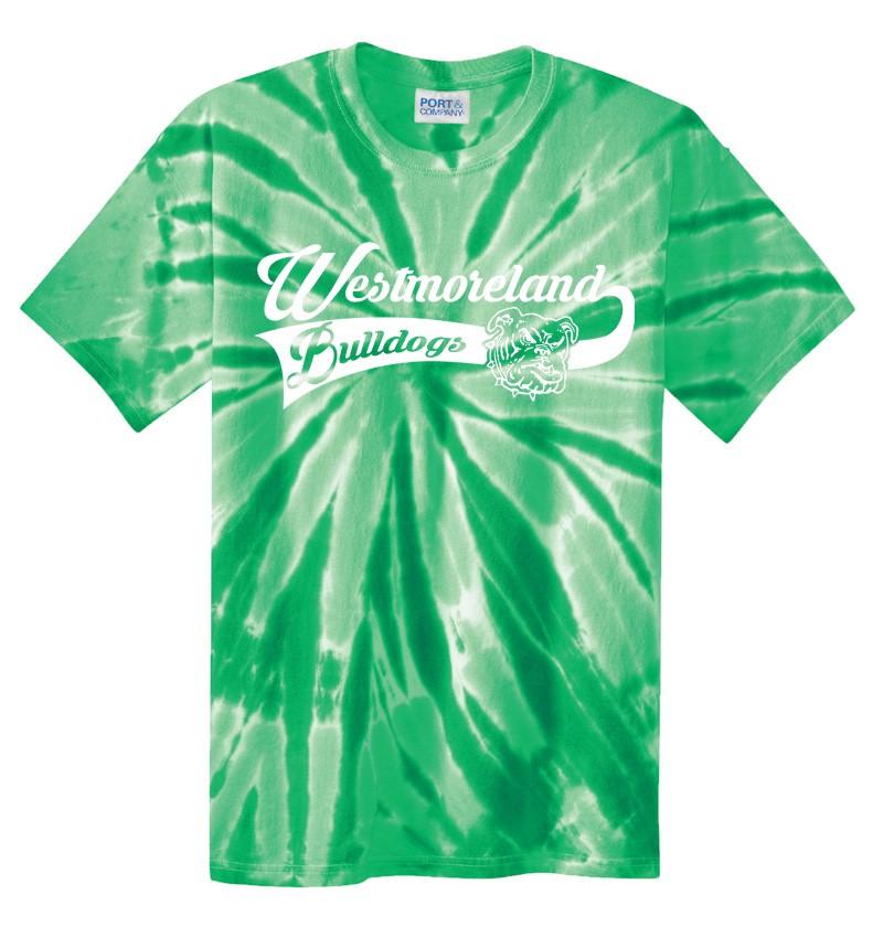 Port & Company Westmoreland Swoosh Tye Dye Tees