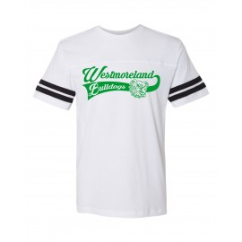 Two Stripe Football Jerseys - Westmoreland Swoosh Logo
